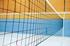 Volleyballnetz Turnier 3 mm